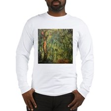 Monet weeping Willow (Detail) Long Sleeve T-Shirt