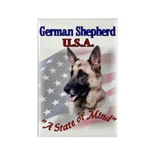 German Shepherd Gifts Rectangle Magnet (10 pack)