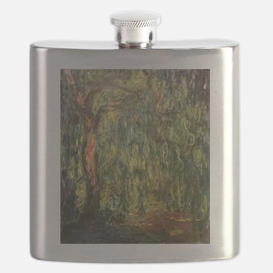 Claude Monet Weeping Willow Flask