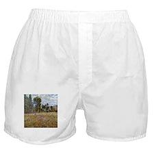 Monet Meadow (Detail) Boxer Shorts