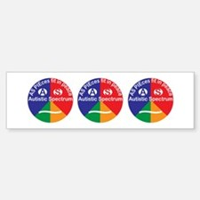 Autistic Spectrum Sticker (Bumper)