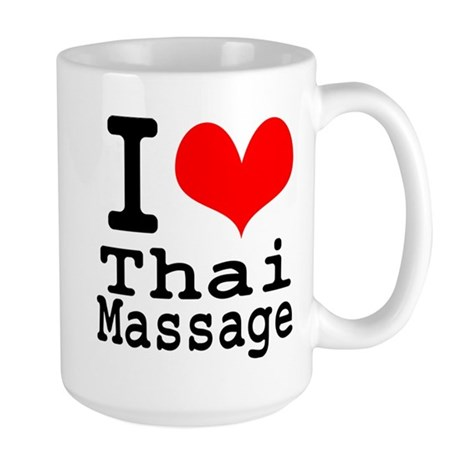 I love Thai Massage Large Mug