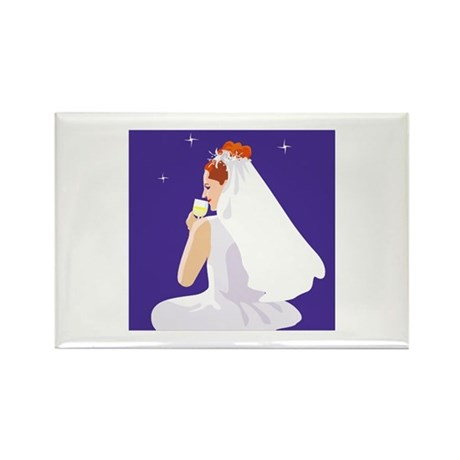 Wedding Rectangle Magnet (100 pack)
