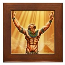Son of Ra Framed Tile