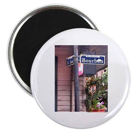 Bourbon Street Sign Magnet