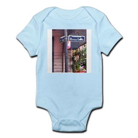 Bourbon Street Sign Infant Creeper