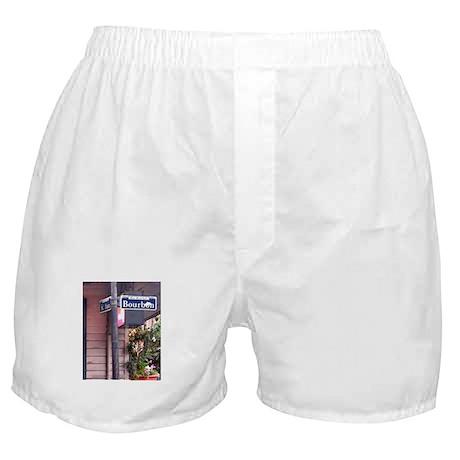 Bourbon Street Sign Boxer Shorts
