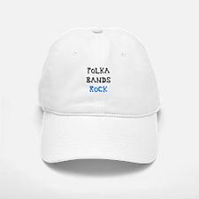 Polka Bands Rock Baseball Baseball Cap