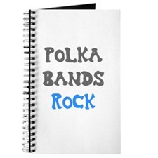 Polka Bands Rock Journal