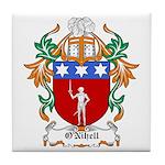 O'Nihell Coat of Arms Tile Coaster