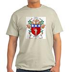O'Nihell Coat of Arms Ash Grey T-Shirt