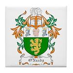 O'Neady Coat of Arms Tile Coaster