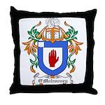 O'Mulrooney Coat of Arms Throw Pillow