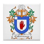 O'Mulrooney Coat of Arms Tile Coaster