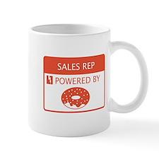 Sales Rep Powered by Doughnuts Small Mug