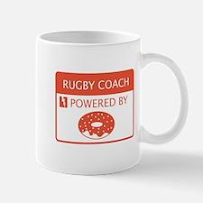 Rugby Coach Powered by Doughnuts Mug