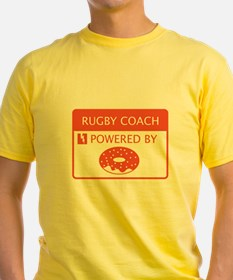 Rugby Coach Powered by Doughnuts T