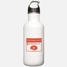Purchasing Agent Powered by Doughnuts Water Bottle