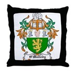 O'Mulledy Coat of Arms Throw Pillow