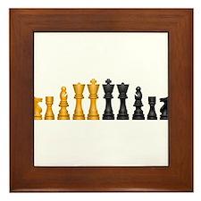 Family of Chess Framed Tile