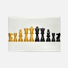 Family of Chess Rectangle Magnet