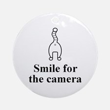 Smile Ornament (Round)