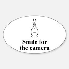 Smile Oval Decal