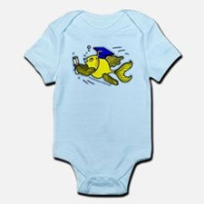 Graduation Fish Graduate Infant Bodysuit