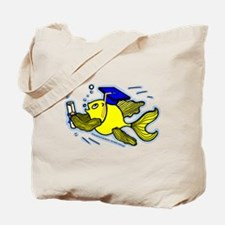 Graduation Fish Graduate Tote Bag