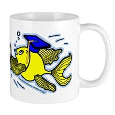Graduation Fish Graduate Small Small Mug