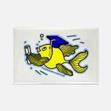 Graduation Fish Graduate Rectangle Magnet