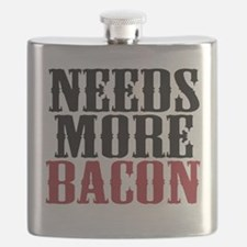 Needs More Bacon Flask