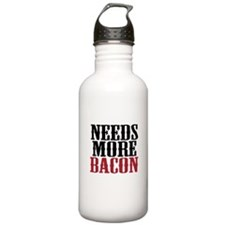 Needs More Bacon Water Bottle