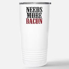Needs More Bacon Stainless Steel Travel Mug