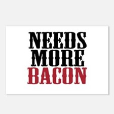 Needs More Bacon Postcards (Package of 8)