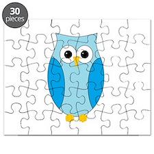 Blue Hoot Owl Puzzle