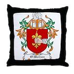 O'Mohun Coat of Arms Throw Pillow