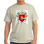 O'Mohun Coat of Arms Ash Grey T-Shirt