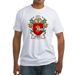 O'Mohun Coat of Arms Fitted T-Shirt