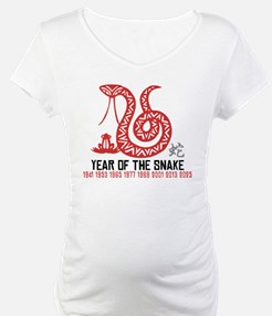 Chinese Paper Cut Year of The Snake Shirt