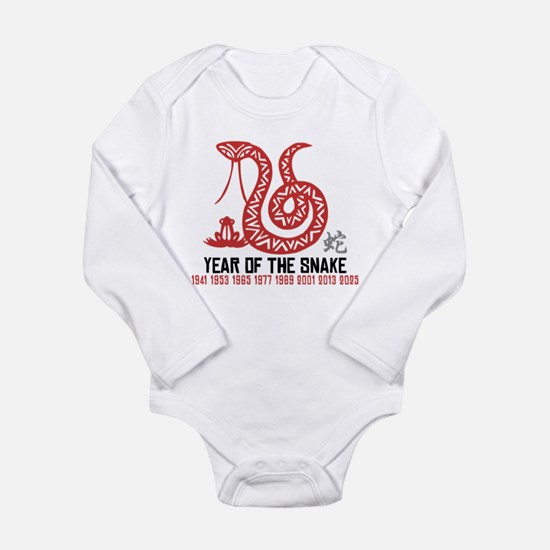 Chinese Paper Cut Year of The Snake Long Sleeve In