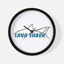 Land Shark Wall Clock