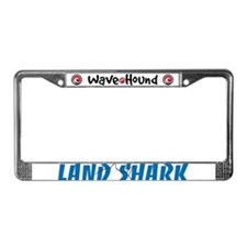 Land Shark License Plate Frame