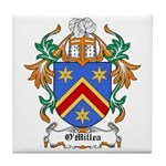 O'Millea Coat of Arms Tile Coaster