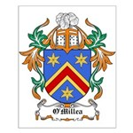O'Millea Coat of Arms Small Poster
