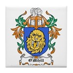 O'Mihill Coat of Arms Tile Coaster