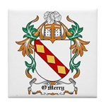 O'Merry Coat of Arms Tile Coaster