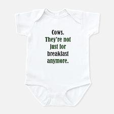 Cows & Beef Breakfast Infant Bodysuit