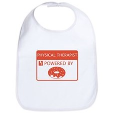 Physical Therapist Powered by Doughnuts Bib