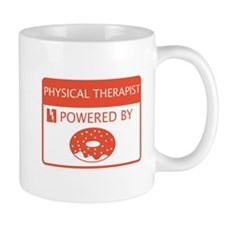 Physical Therapist Powered by Doughnuts Mug